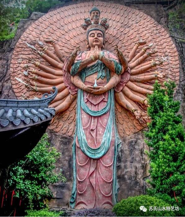 假山石雕艺术制造