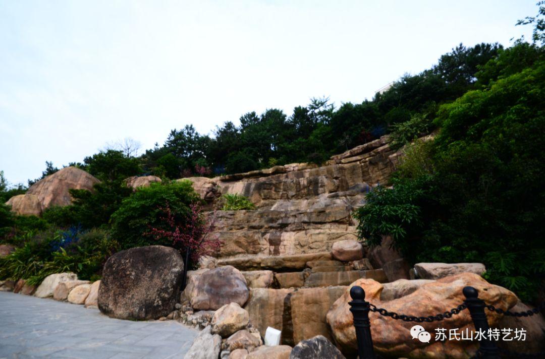瀑布景观工程设计
